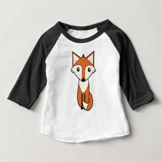 T-shirt Pour Bébé Art frais de Fox rouge