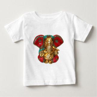 T-shirt Pour Bébé Art indien de temple hindou de statue en laiton