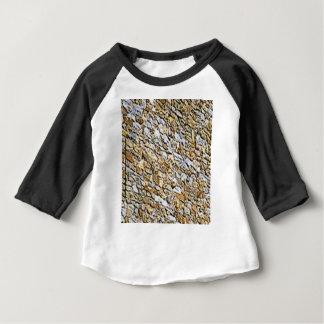 T-shirt Pour Bébé art léger bronzage de gravier