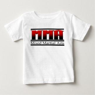 T-shirt Pour Bébé Arts martiaux mélangés noir et rouge de MIXED