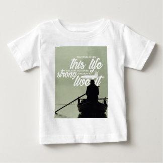 T-shirt Pour Bébé Assez fort pour vivre cette vie