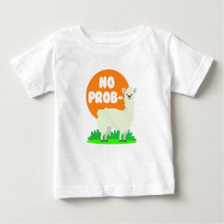 T-shirt Pour Bébé Aucun Prob-Lama - l'aucun lama de problème - drôle