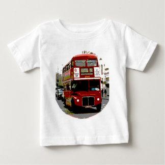 T-shirt Pour Bébé Autobus rouges de Routemaster d'autobus de Londres