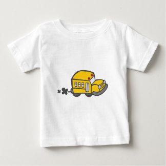 T-shirt Pour Bébé Autobus scolaire mignon