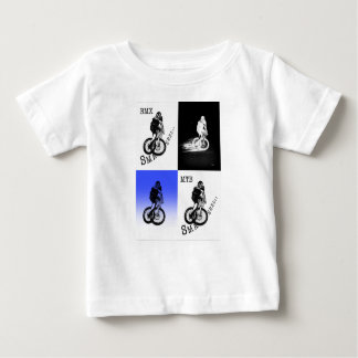 T-shirt Pour Bébé Autocollants de CYCLISTE du cycliste MTB BMX de