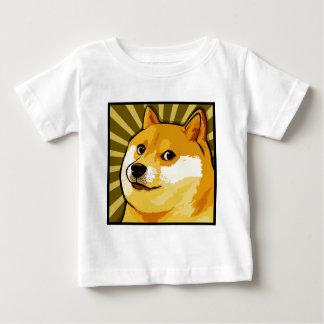 T-shirt Pour Bébé Autoportrait carré de doge de Meme de doge
