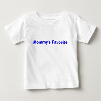 T-shirt Pour Bébé Avant du favori de la maman