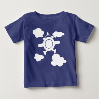 T-shirt Pour Bébé Avion dans le ciel