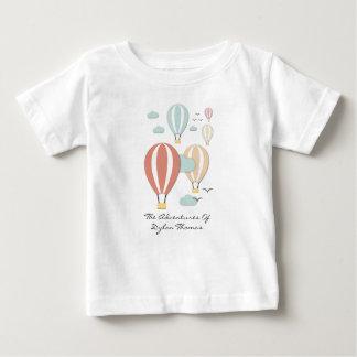 T-shirt Pour Bébé Ballon à air chaud Papercuts