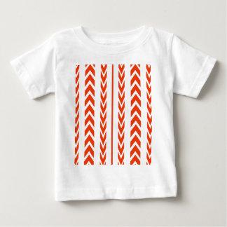 T-shirt Pour Bébé Bande de roulement orange de pneu