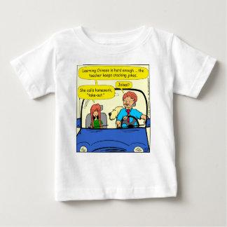 T-shirt Pour Bébé Bande dessinée à emporter de travail de 917 appels