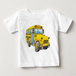 T-shirt Pour Bébé Bande dessinée d'autobus scolaire