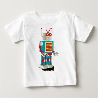 T-shirt Pour Bébé Bande dessinée de caractère de robot
