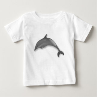 T-shirt Pour Bébé Bande dessinée de dauphin