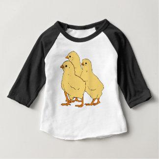 T-shirt Pour Bébé Bande dessinée de poussins