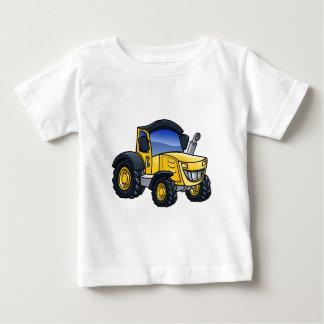 T-shirt Pour Bébé Bande dessinée de véhicule de tracteur