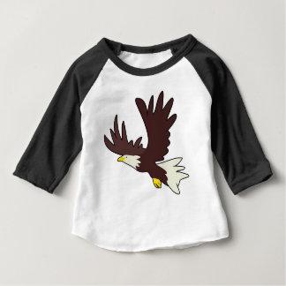 T-shirt Pour Bébé Bande dessinée d'Eagle chauve