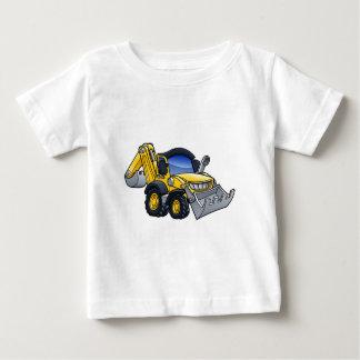 T-shirt Pour Bébé Bande dessinée défonceuse de bouteur