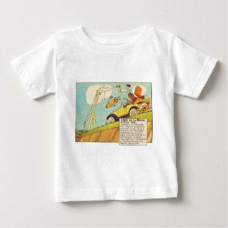T-shirt Pour Bébé Bandes dessinées vintages - deux circuits de
