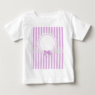 T-shirt Pour Bébé barre des regards riches de beau de motif style de