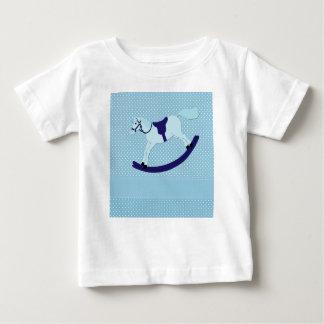 T-shirt Pour Bébé basculer-cheval