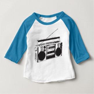 T-shirt Pour Bébé base-ball de caisson de basses de sableuse de