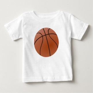 T-shirt Pour Bébé Basket-ball orange