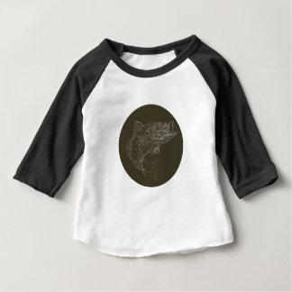 T-shirt Pour Bébé Basse de large ouverture Scratchboard