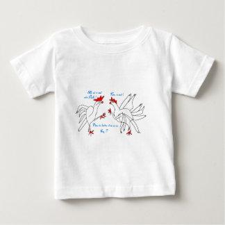 T-shirt Pour Bébé BATAILLE DE COQS.jpg