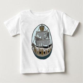 T-shirt Pour Bébé Bateau de fantôme