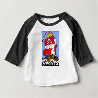 T-shirt Pour Bébé Bateau de pirate