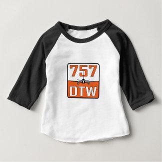 T-shirt Pour Bébé Bavoir de bébé de 757 DTW