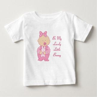T-shirt Pour Bébé Beau petit lapin