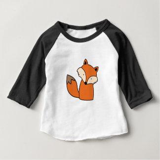 T-shirt Pour Bébé Beau renard rouge