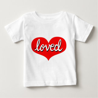 T-shirt Pour Bébé Beaucoup a aimé - des nourrissons