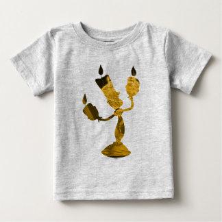 T-shirt Pour Bébé Beauté et la bête | Lumière Silouette