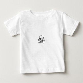 T-shirt Pour Bébé bébé de crâne