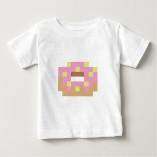 T-shirt Pour Bébé Beignet givré par rose de pixel