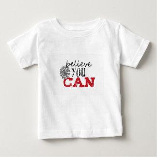 T-shirt Pour Bébé Beliece vous pouvez