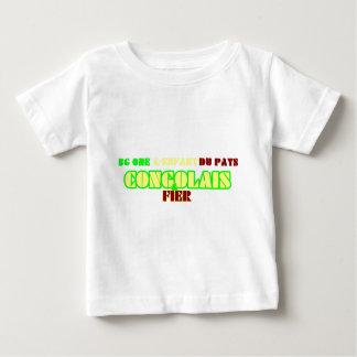 T-shirt Pour Bébé bg one l'enfant du pays