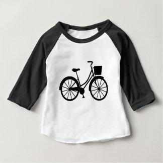 T-shirt Pour Bébé Bicyclette avec le panier