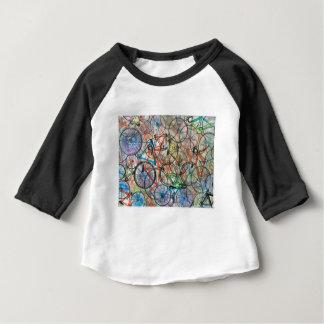 T-shirt Pour Bébé Bicyclette de bicyclette que je veux monter mon