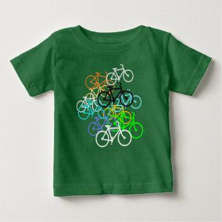 T-shirt Pour Bébé Bicyclettes