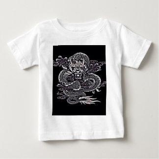 T-shirt Pour Bébé Blanc épique de dragon