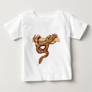 T-shirt Pour Bébé Boa brésilien d'arc-en-ciel