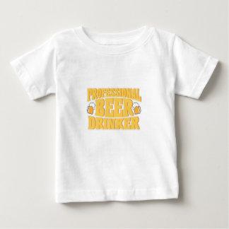 T-shirt Pour Bébé Boire professionnel de bière de buveur de bière