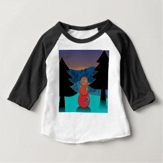 T-shirt Pour Bébé Bonhomme de neige de Robo