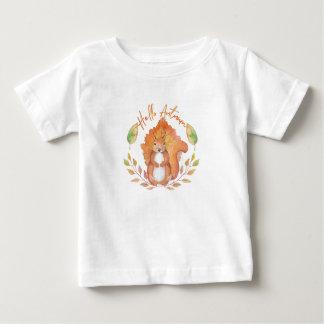 T-shirt Pour Bébé Bonjour automne