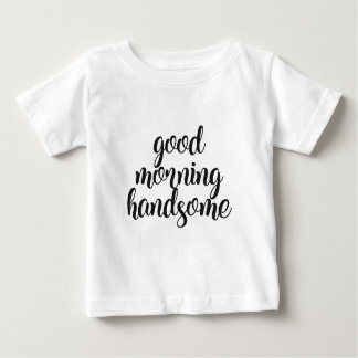 T-shirt Pour Bébé Bonjour beau
