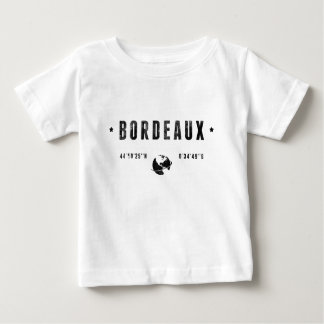 T-shirt Pour Bébé Bordeaux